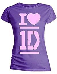 One Direction - I love 1D Girlie Shirt