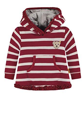 (Steiff Mädchen Sweatshirt 1/1 Arm, Rot (y/d Stripe Multicolored 0001), 104)