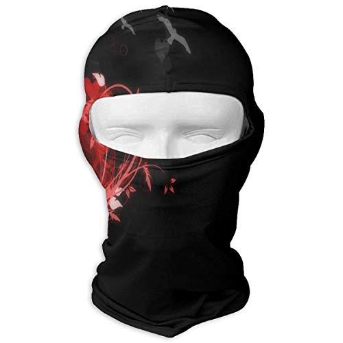 Balaclava Christmas Owl Moon Full Face Masks UV Protection Ski Cap Womens Snowboard for Motorcycle New12 (Galaxy Snowboard Handschuhe)