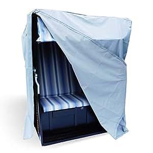 huellen king premium strandkorb schutzh lle aus wetterbest ndigem 600d oxford gewebe uv. Black Bedroom Furniture Sets. Home Design Ideas