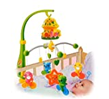 NOVICZ Musical Baby Cradle Hanging Toys Rotating Music Cradle Toy - New born baby Revolving Cradle Toy Set