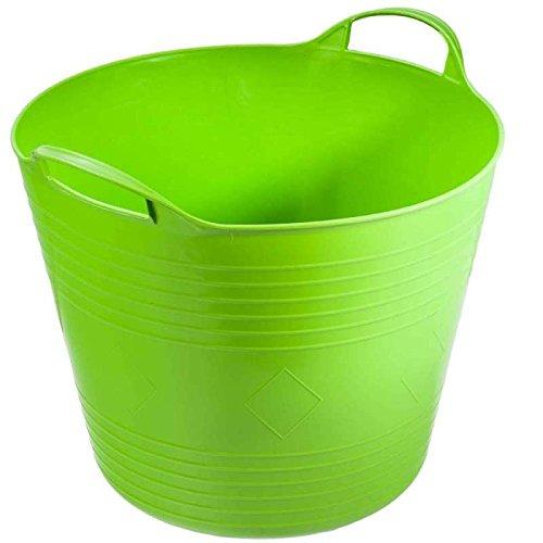 super-clean-08198-secchio-flessibile-27-l-colore-verde