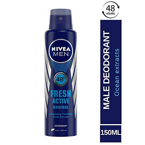 Nivea Fresh Active Original 48 Hours Deodorant, 150ml