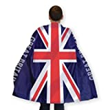 Great Britain Flag Body Cape (One Size Fits Most) [Toy] (Kostüm)