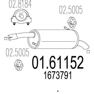 MTS 01.61152 composante