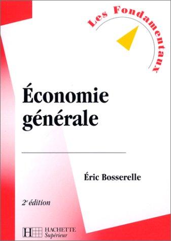 Economie générale, 2e édition
