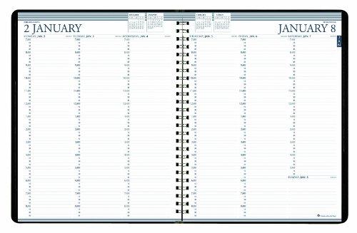 House of Doolittle Professional Wochenplaner 12 Monate Januar 2015 bis Dezember 2015, 8,5 x 11 Zoll, vertikale Format, recycelt (HOD27202-15) (Terminkalender Recycelt)