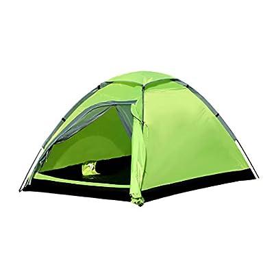 Enkeeo 2 Personen Zelt/ Kuppelzelt/ Campingzelt/ Outdoor Zelt mit Tragetasche für Wandern, Klettern
