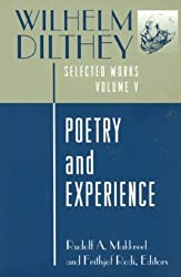 Wilhelm Dilthey: Selected Works, Volume V: Poetry and Experience: Poetry and Experience Vol 5 (Selected works / Wilhelm Dilthey)