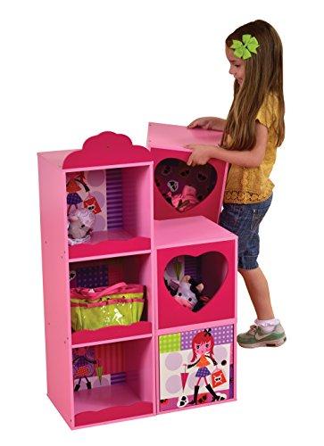 Liberty House Juguetes mz4609Fashion Girl estante y apilamiento de unidades de almacenamiento