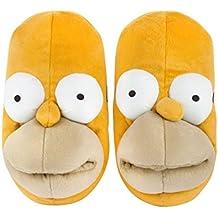 The Simpsons Homer Face Men's 3D Slippers