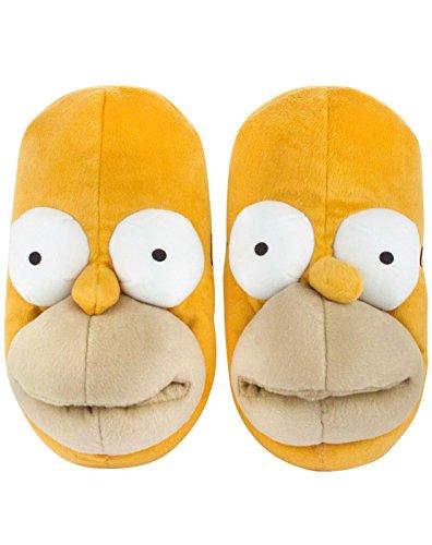 the-simpsons-pantofole-uomo-giallo-gelb-giallo-gelb-m