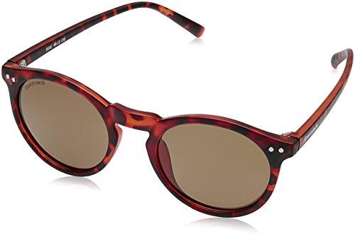 Fastrack Polarized Square Men's Sunglasses - (P383BR1P|49|Brown Color) image