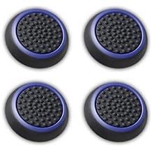 Funda Canamite para palanca de mando de PS4,PS3,Xbox One, Xbox One S y Xbox 360.4unidades, azul