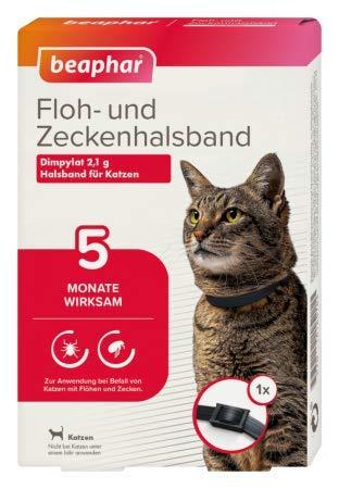 Beaphar - Ungezieferband Katze 35cm lang Farbe schwarz-braun