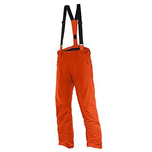 Salomon Iceglory M - Pantalone da sci da Uomo, colore Arancione, taglia L / R