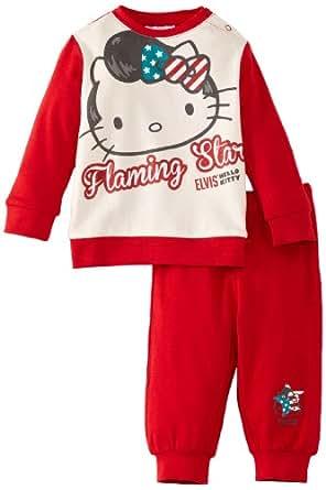 Hello Kitty Elvis HM0391.I00.B Baby Girl's Pyjamas Red/White 18 Months