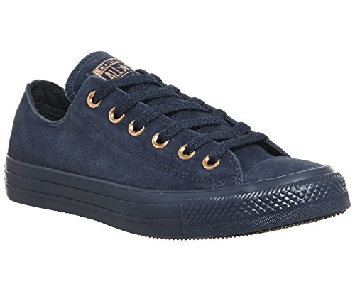 Converse Unisex Adults  CTAS Ox Navy Cherry Blossom Trainers ee58c40ad