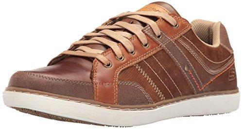 Skechers Lanson-Torben, Chaussures de Running Homme Marron