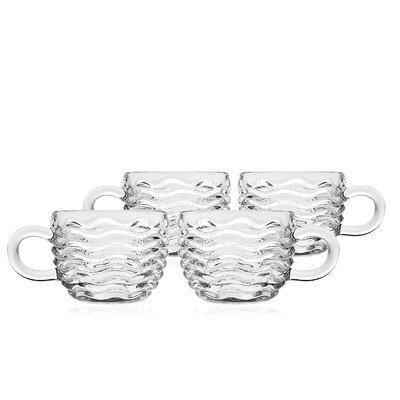 Capri 5 oz. Punch Cups (Set of 4) by Godinger -