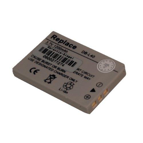 Xacti (Ersatzakku für Sanyo DB-L40 ( Xacti DMX-HD1, DMX-HD2, DMX-HD800, VPC-HD1, VPC-HD2))