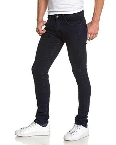 BLZ jeans - Jean blauen Röhrenjeans Mann Blau