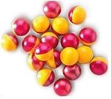 Outletdelocio. Pack de 300 bolas de pintura para paintball. Calibre .68. (Pintura soluble en agua)