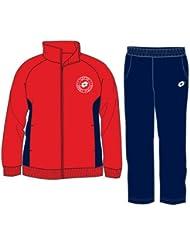 Lotto Veste et pantalon de survêtement BTS Junior, Jeunes, rouge/bleu marine