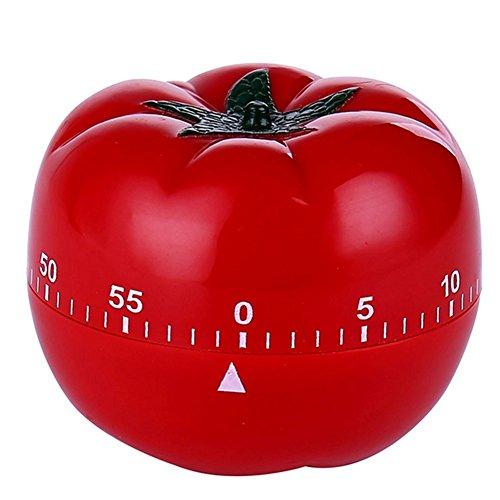 Timer da cucina in plastica pomodoro
