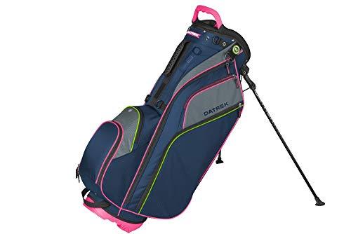 Datrek Unisex Go Lite Hybrid Stand Bag Navy/Pink/Lime (Hybrid Bag Boy)