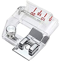 Prensatelas de cinta de bies ajustable, prensatelas para máquinas de coser domésticas, accesorios para coser