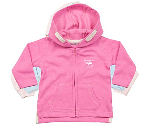 My Patronus is a '67 Chevy Impala, Baby Kapuzen Pullover, Rosa/Weiss, 2-3 Jahre