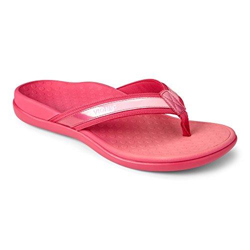 Vionic Vionic Islander Toe Post Sandal, Infradito donna Oro oro Rosa (Pink Ombre)