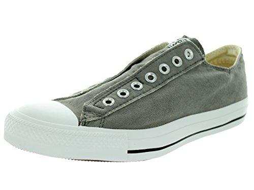 Asics Chuck Taylor Core Lea Ox, chaussures de course Homme Gris Foncé