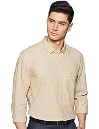 Indigo Nation Men's Solid Slim Fit Cotton Formal Shirt