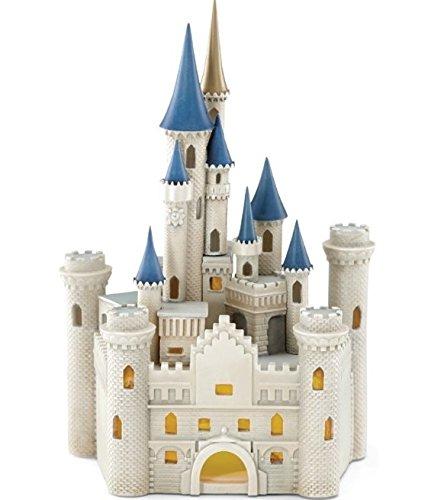Lenox Disney Cinderella's Castle Lighted Figurine 878905 Lenox Castle