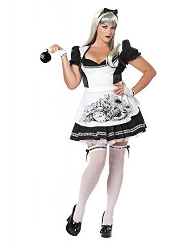 Dark Alice Halloween Costume (Plus Size) - Dress 20 to 22