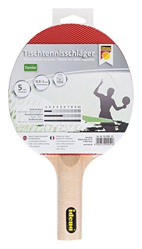 Idena 7423508 - Tischtennisschläger, Turnier, Mehrfarbig