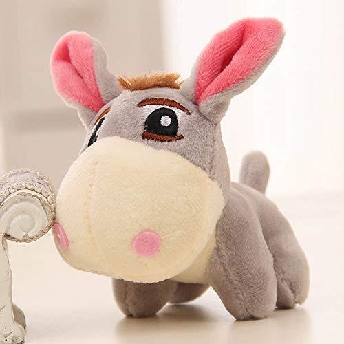 Mini Office Depot Das Maskottchen Der Kinder Esel Anhänger Schicken Mädchen Puppen Spielzeug (Grau)