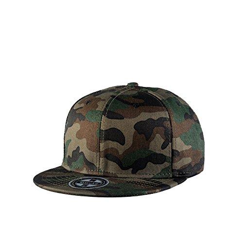 JEEDA Neue Camouflage Hysteresen-beiläufige Baseball-Haube Hiphop-Hut-Junge Mode-justierbares Unisex -