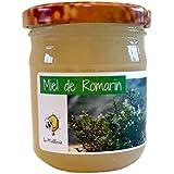 Miel de Romarin - Produit en France - Direct apiculteur, récolté en Provence, issu d'une apiculture 100% naturelle sans aucun traitement. Pot de 250g