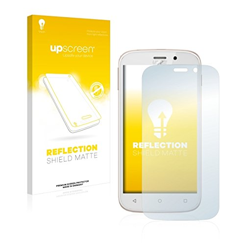 upscreen Reflection Shield Matte Bildschirmschutz Schutzfolie für Yezz Andy 5M VR (matt - entspiegelt, hoher Kratzschutz)