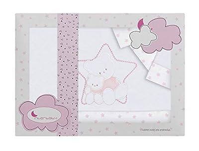 Sabanas de Invierno CORALINA Extrasuave MINICUNA 50x80 - (bajera+encimera+funda almohada) - Color: Beige - OFERTA