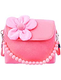 40ddbdc8ba Gudotra Borsa Borsetta da Bambina Carini Principessa Rosa Velluto con Fiore  Regalo Compleanno Bambina