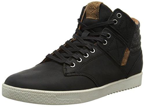 O'Neill Raybay LX Leather, Baskets Basses Homme Noir - Black (Black 9900)