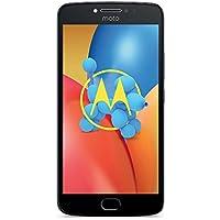 Motorola Moto E4 Plus Smartphone (13,97 cm (5,5 Zoll) HD Display, 3 GB RAM/16 GB Speicher, Dual-SIM, Android 7.1.1) Iron Grau