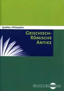 Quellen Philosophie - Griechisch-Römische Antike