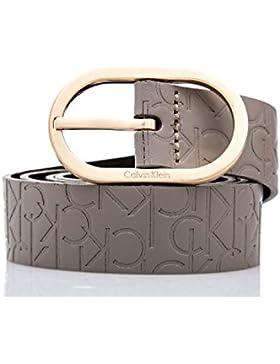 CALVIN KLEIN - Damen gürtel mit logo mish4 logo belt