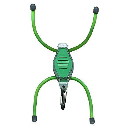 Nite Ize LED-Taschenlampe Bug Lit, Grüne Beine/scharze Füße, NI-BGT28W-07-0117