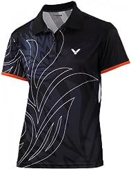 Victor polo korea open t-shirt pour femme Noir XL